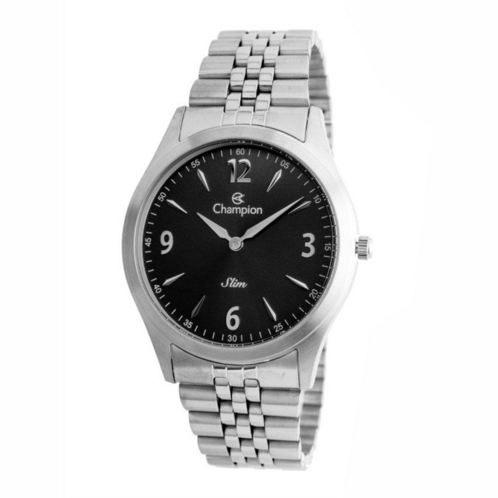 Relógio CHAMPION CA21777T Prata - Mostrador Preto