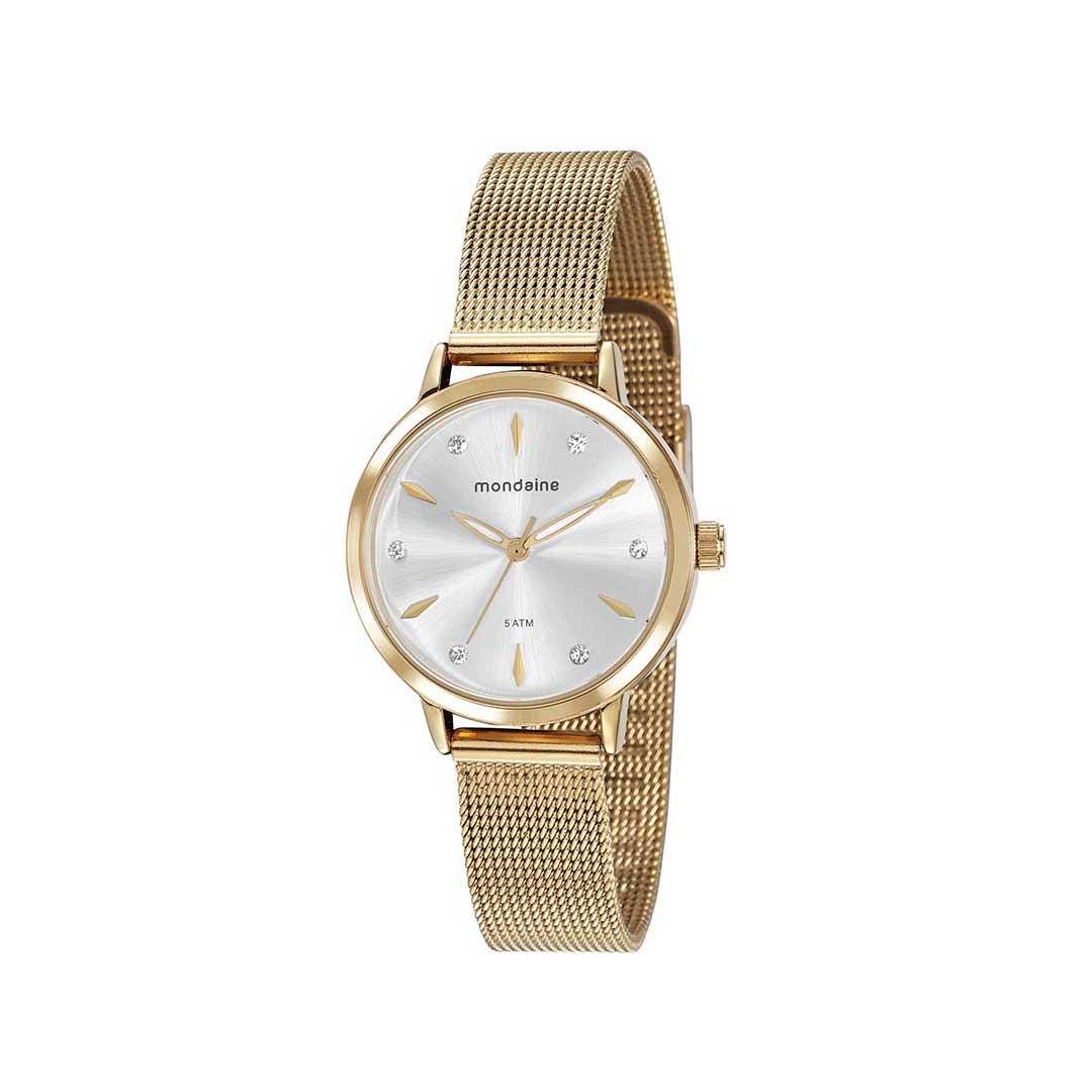 Relógio Mondaine Feminino 76733LPMVDE3 Dourado