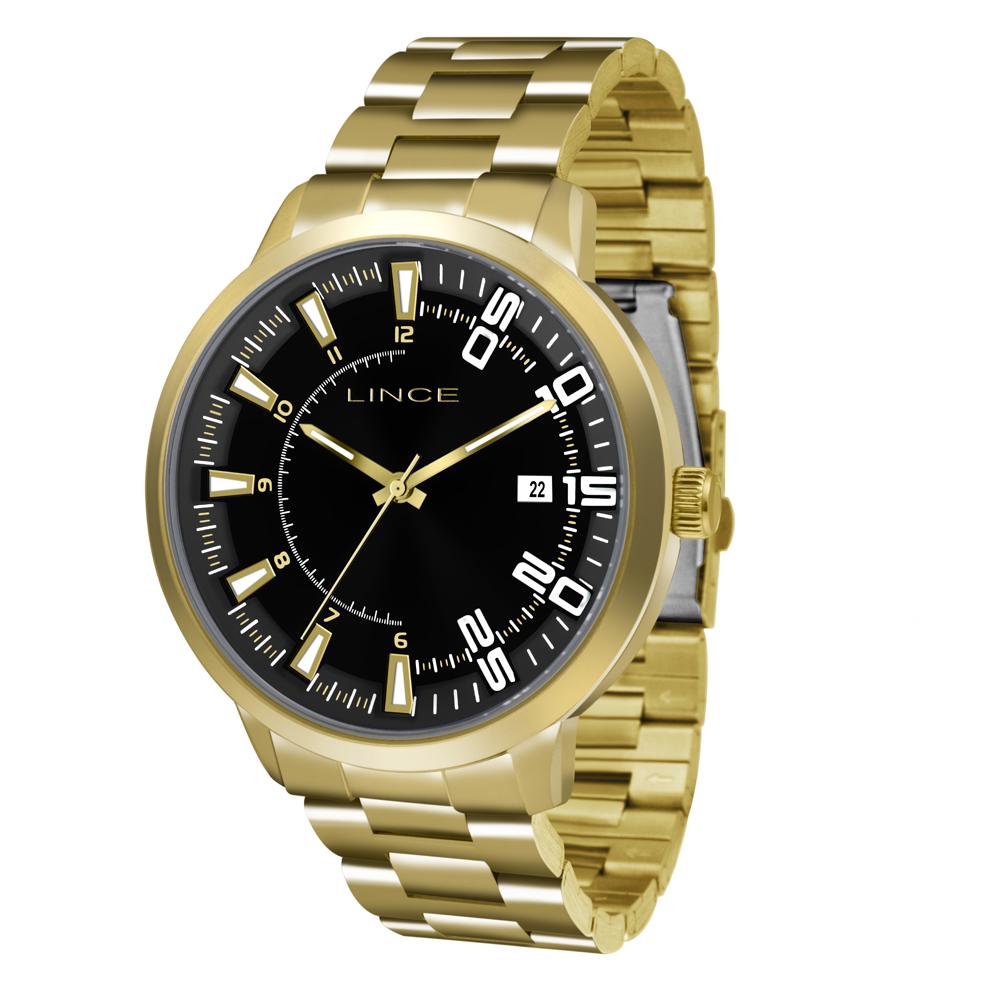 Relógio LINCE Masculino MRG4353S P2KX Dourado