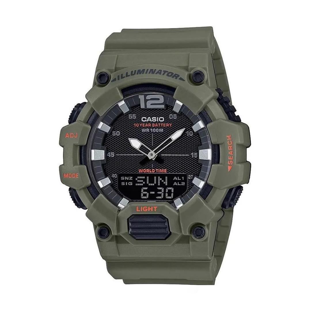 Relógio CASIO Masculino HDC-700-3A3VDF AnaDigi - Verde