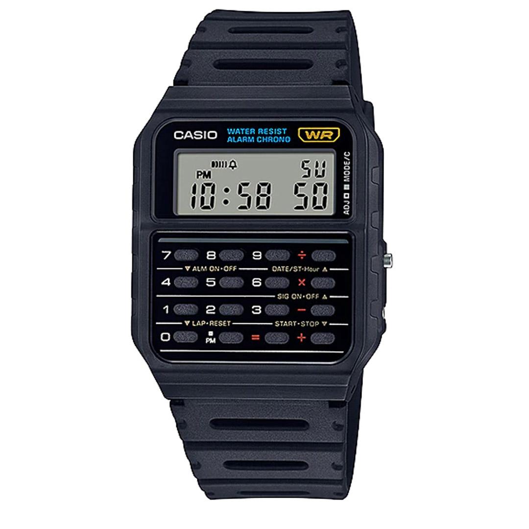 Relógio CASIO Calculadora CA-53W-1Z Preto