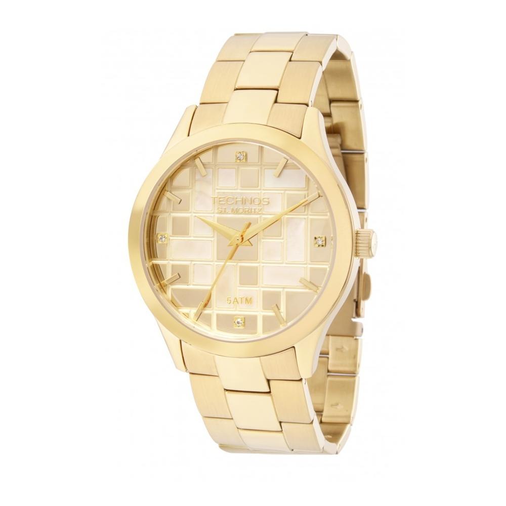Relógio Technos 2039BC/4X Elegance Feminino Dourado