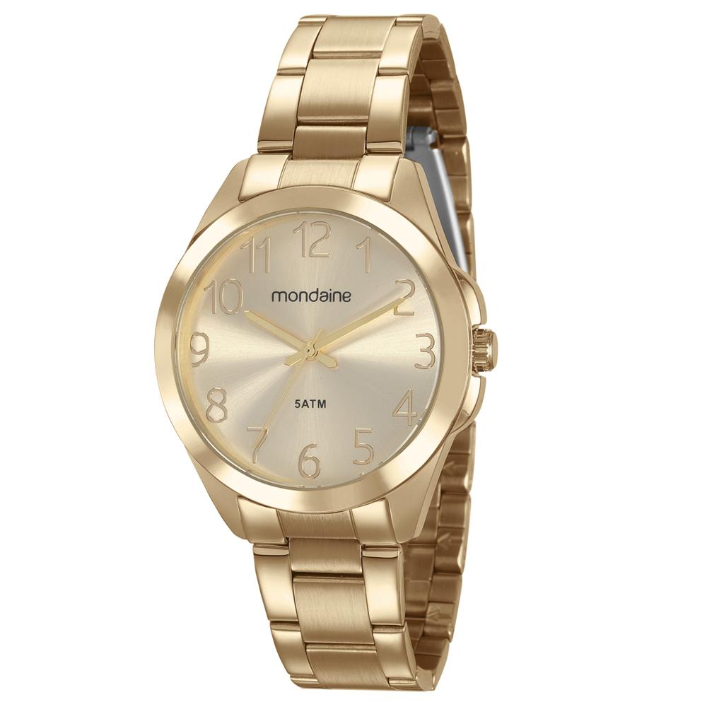 Relógio MONDAINE 78753LPMVDA1 Dourado