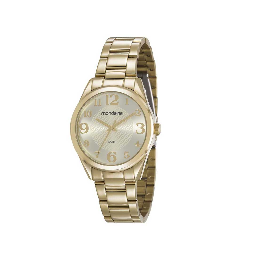 Relógio Mondaine Feminino 83435LPMVDE1 Dourado