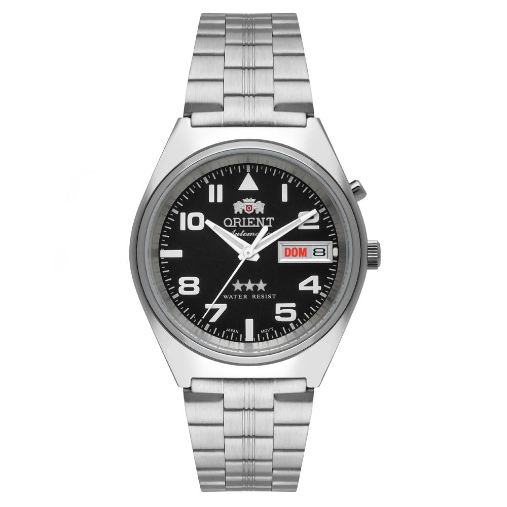 Relógio ORIENT 469SS083 P2SX Automático 3 estrelas Prata