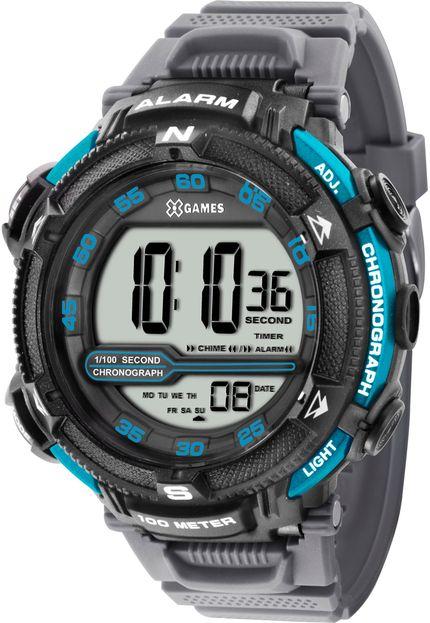 Relógio XGAMES XMPPD318 BXGX Digital - PRETO/AZUL