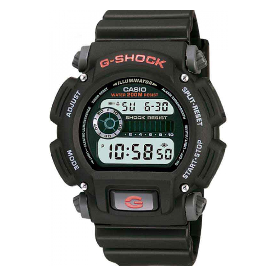 Relógio Digital Masculino G-SHOCK da CASIO DW-9052-1VDR