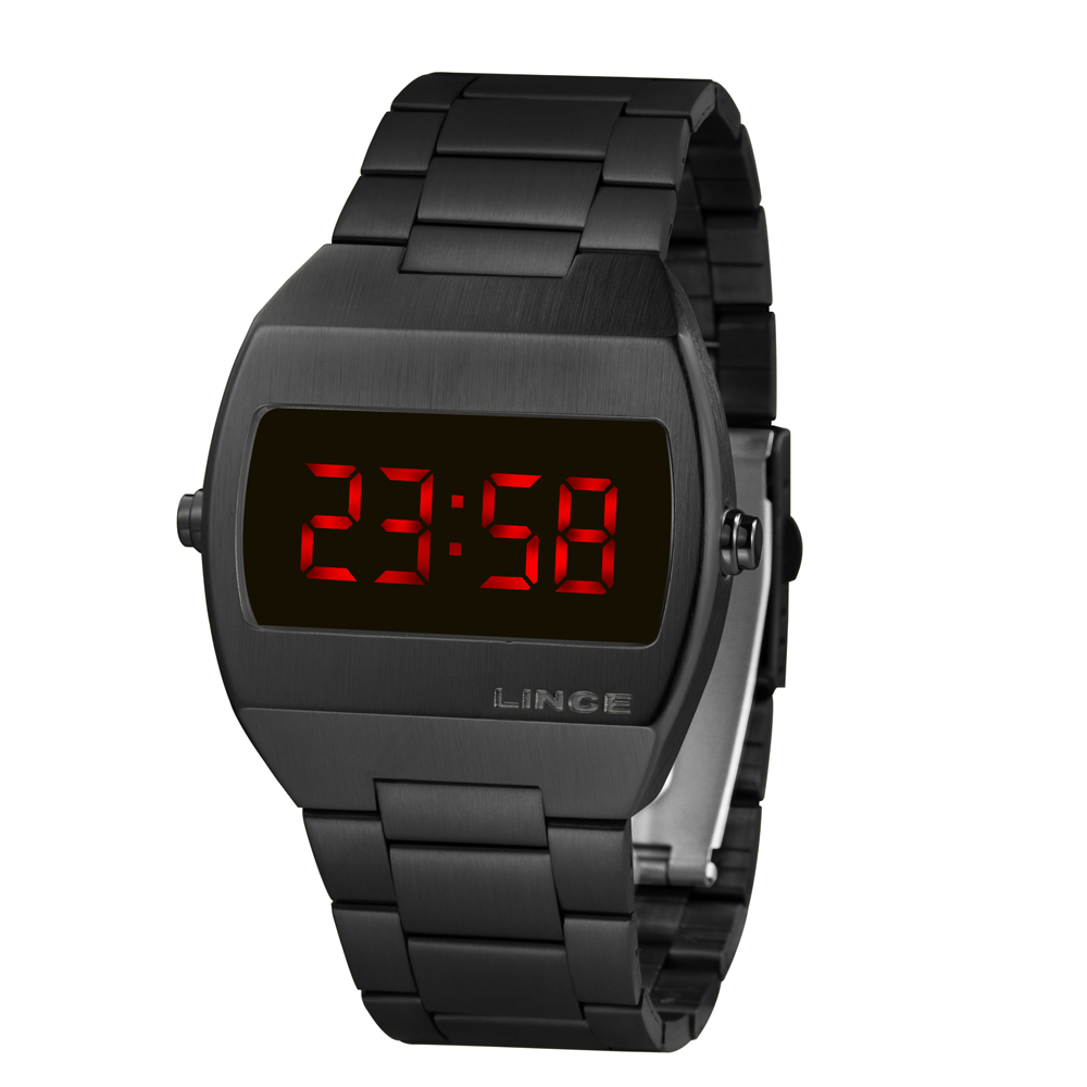 Relógio LINCE Digital Preto MDG4620L VXPX
