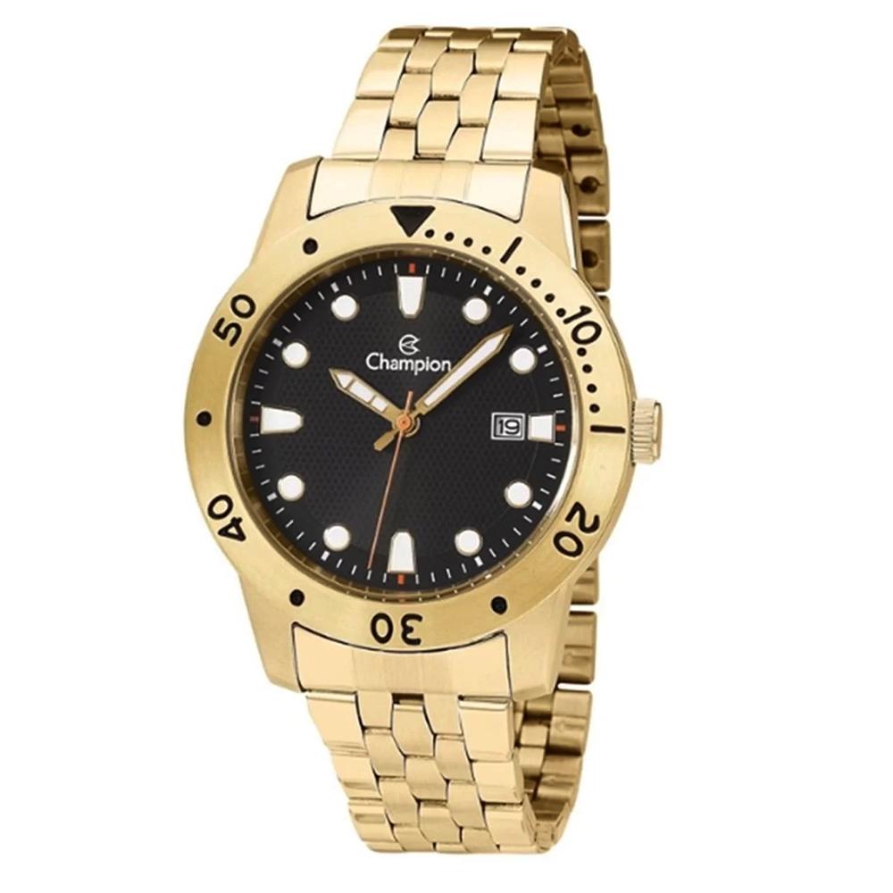 Relógio CHAMPION CA31444X Analógico Dourado Masculino