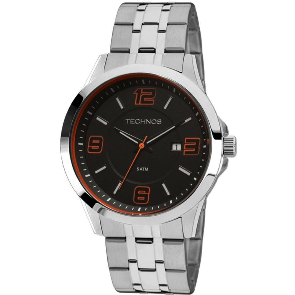 Relógio TECHNOS 2115KQG/1L Masculino - Prata
