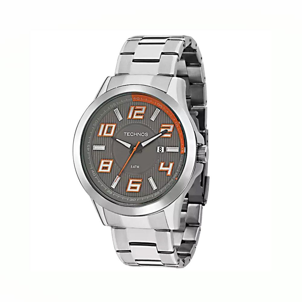Relógio TECHNOS 2115KNE/1L  Analógico - Prata