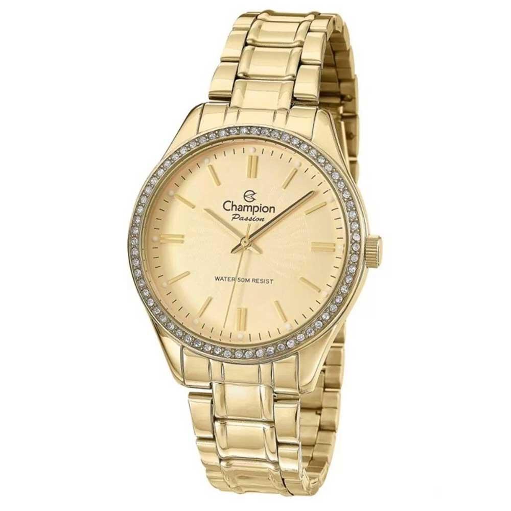 Relógio CHAMPION Feminino CN29856X Analógico Dourado