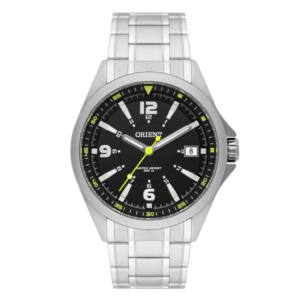 Relógio ORIENT MBSS1270 P2SX analógico Prata