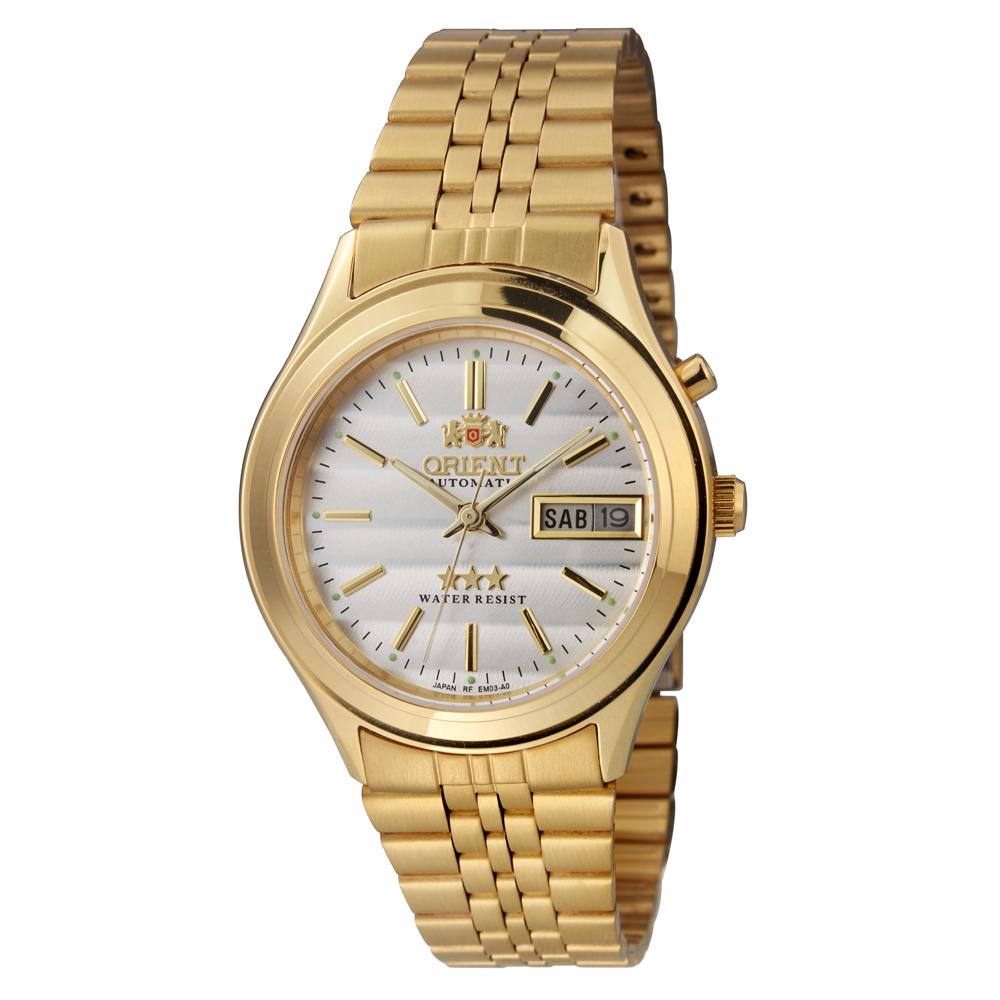 Relógio ORIENT Automático EM03-A0 B1KX Dourado