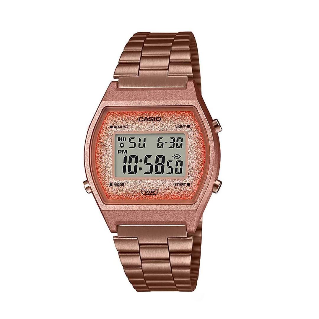 Relógio CASIO Feminino B640WCG-5DF Rosê