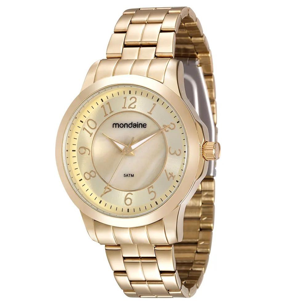 Relógio MONDAINE 99012LPMVDE1 Dourado