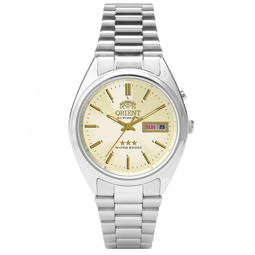 Relógio ORIENT 469WA3 C1SX Automático 3 Estrelas Prata
