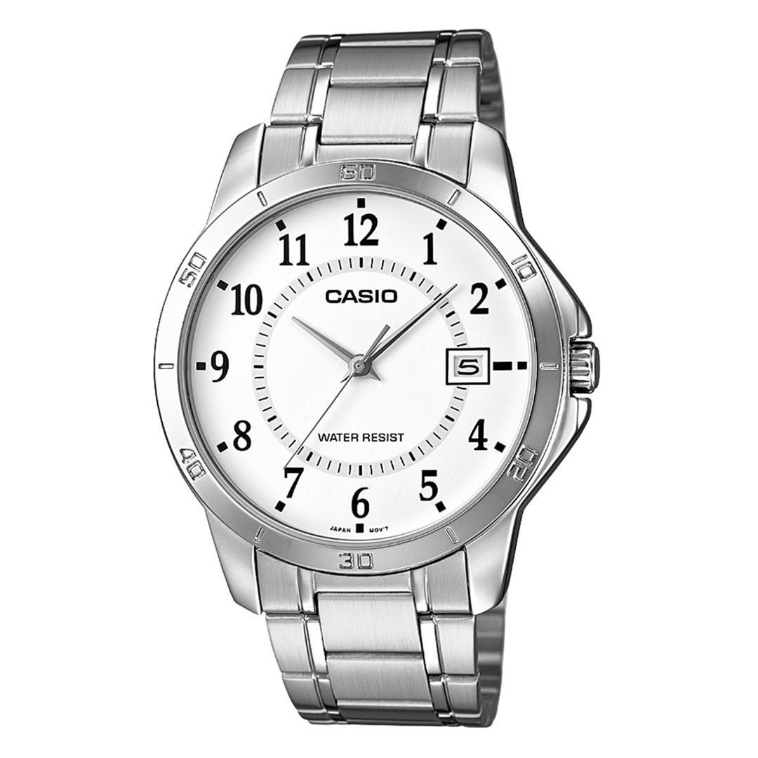 Relógio CASIO Masculino Analógico MTP-V004D-7BUDF Prateado