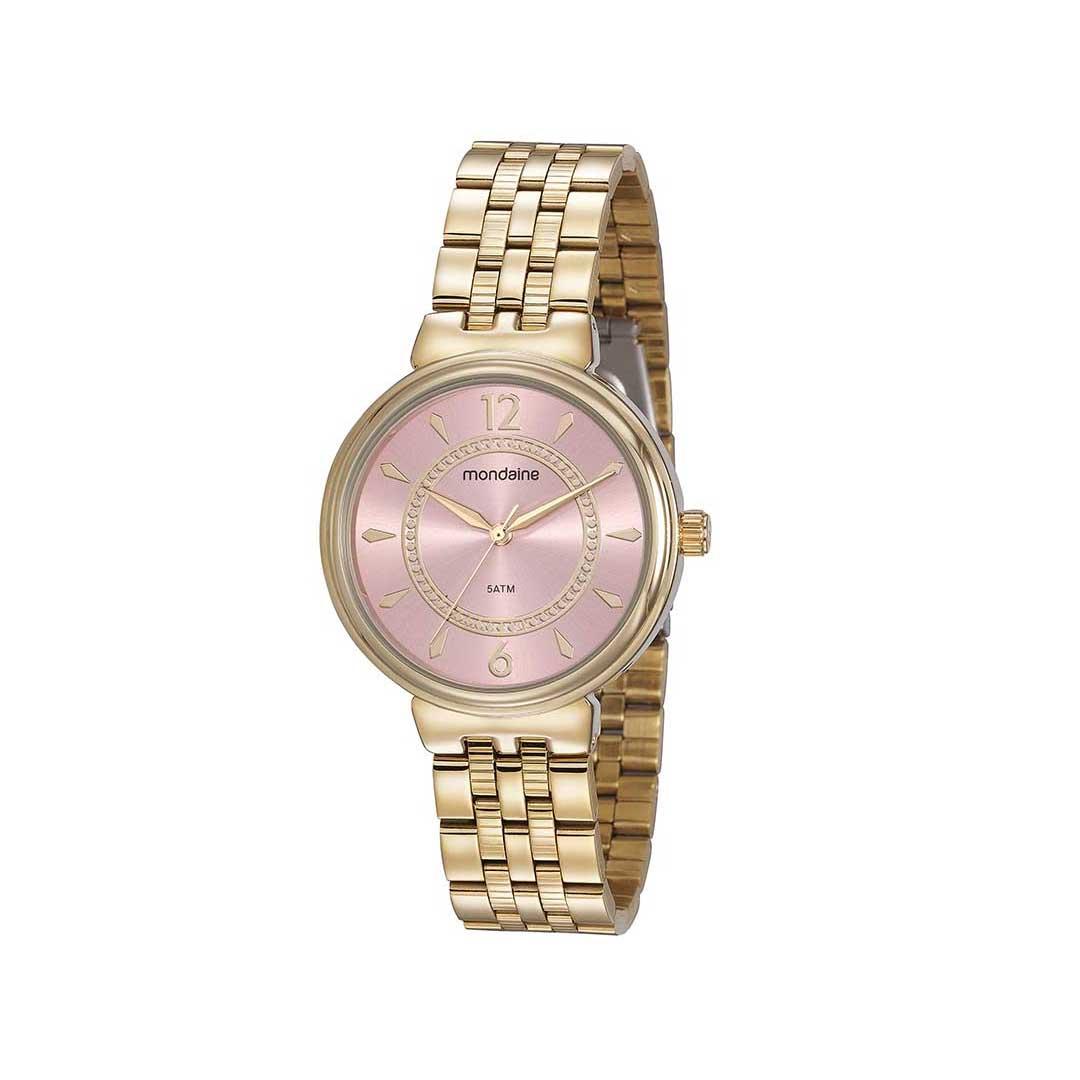 Relógio Mondaine Feminino 99461LPMVDE2 Dourado