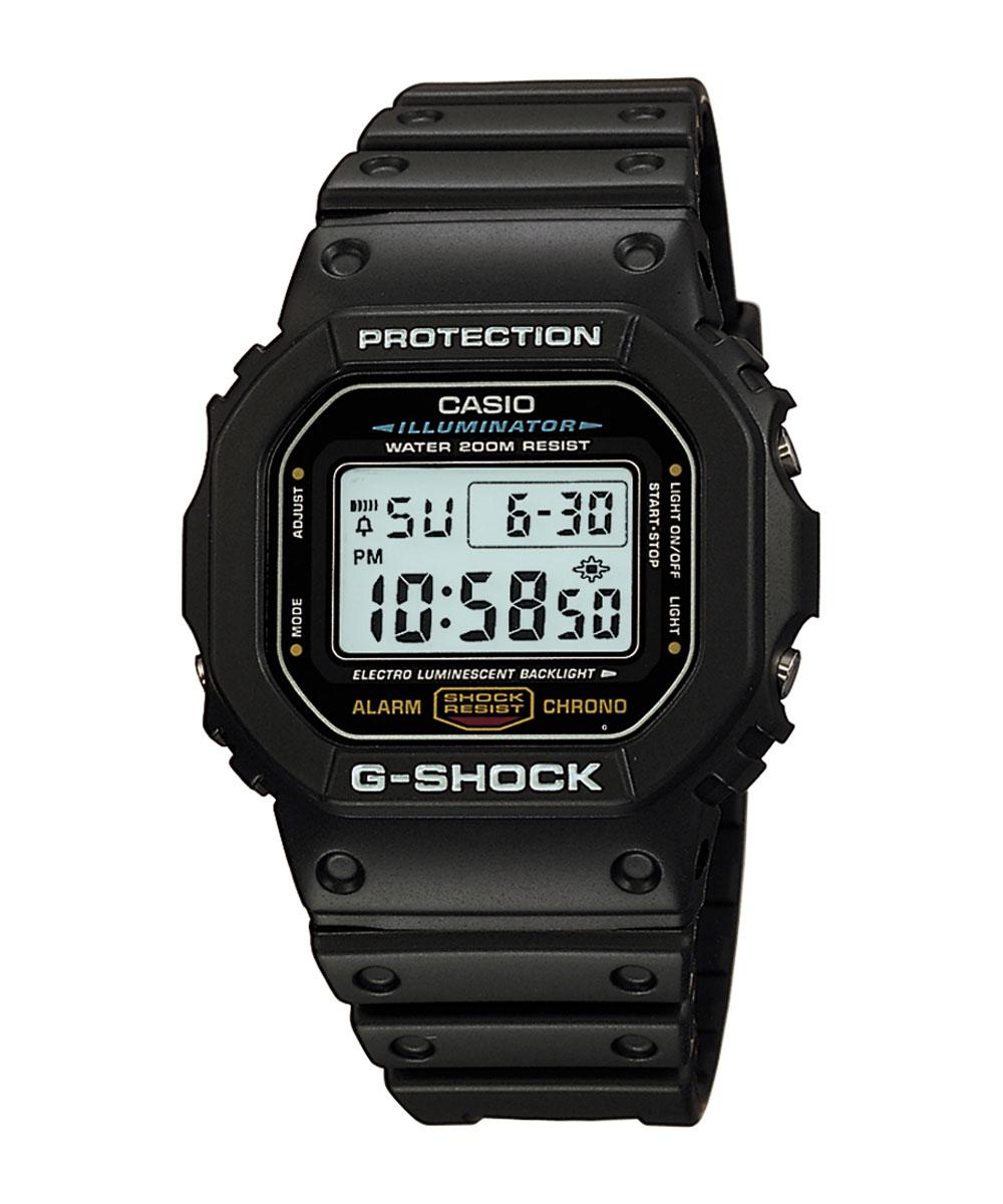 RELÓGIO CASIO G-SHOCK DW-5600E-1VDF - DIGITAL PRETO
