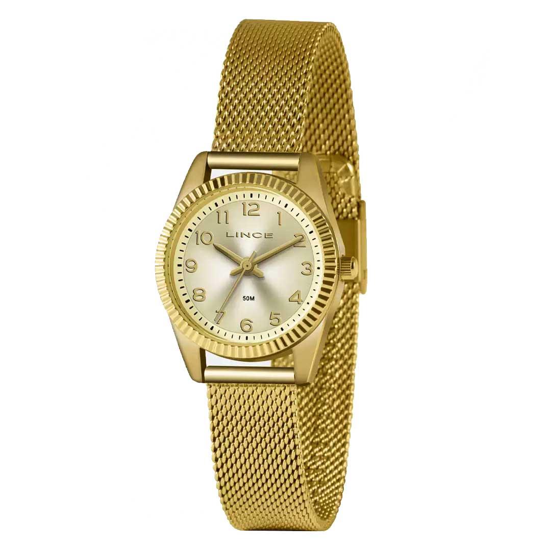 Relógio lince Feminino LRG4674L C2KX Dourado
