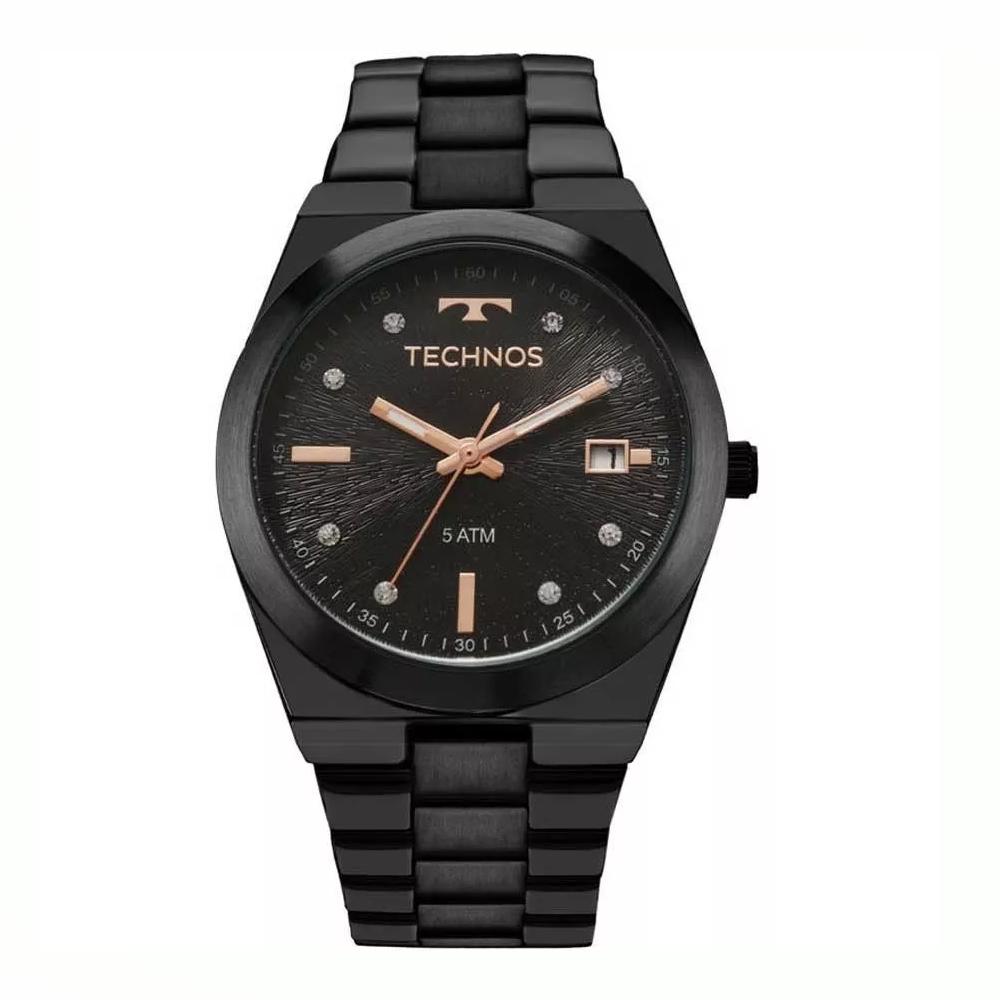 Relógio TECHNOS 2115KZS/5P Analógico Preto