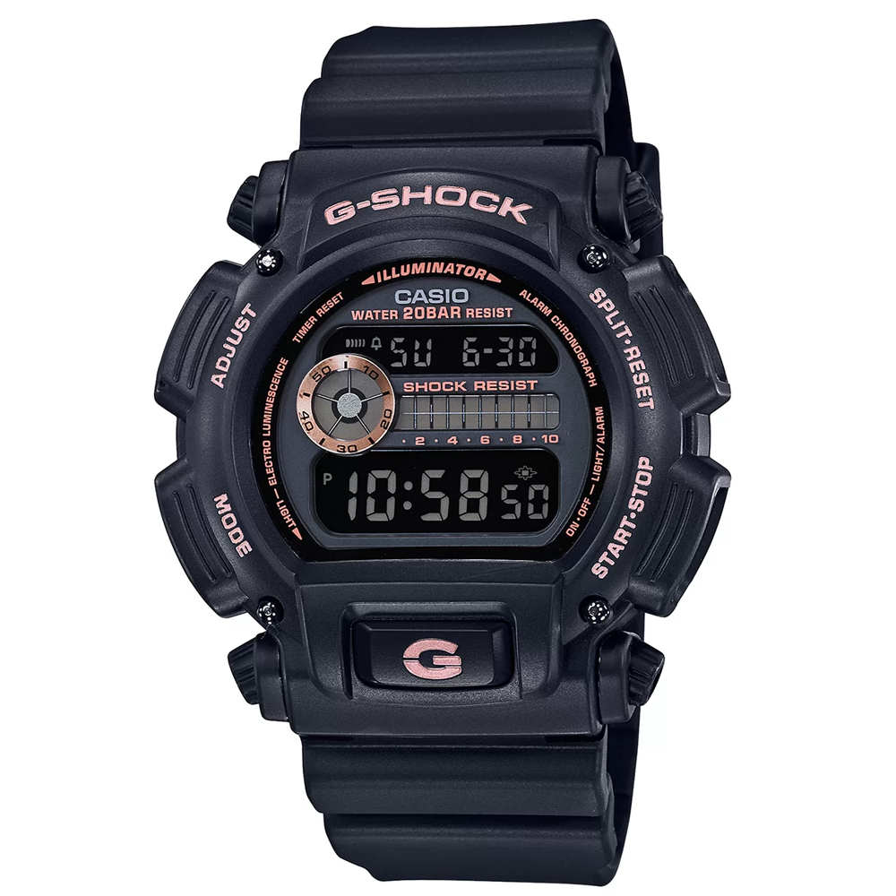 Relógio Digital G-SHOCK Original DW-9052GBX-1A4DR Preto