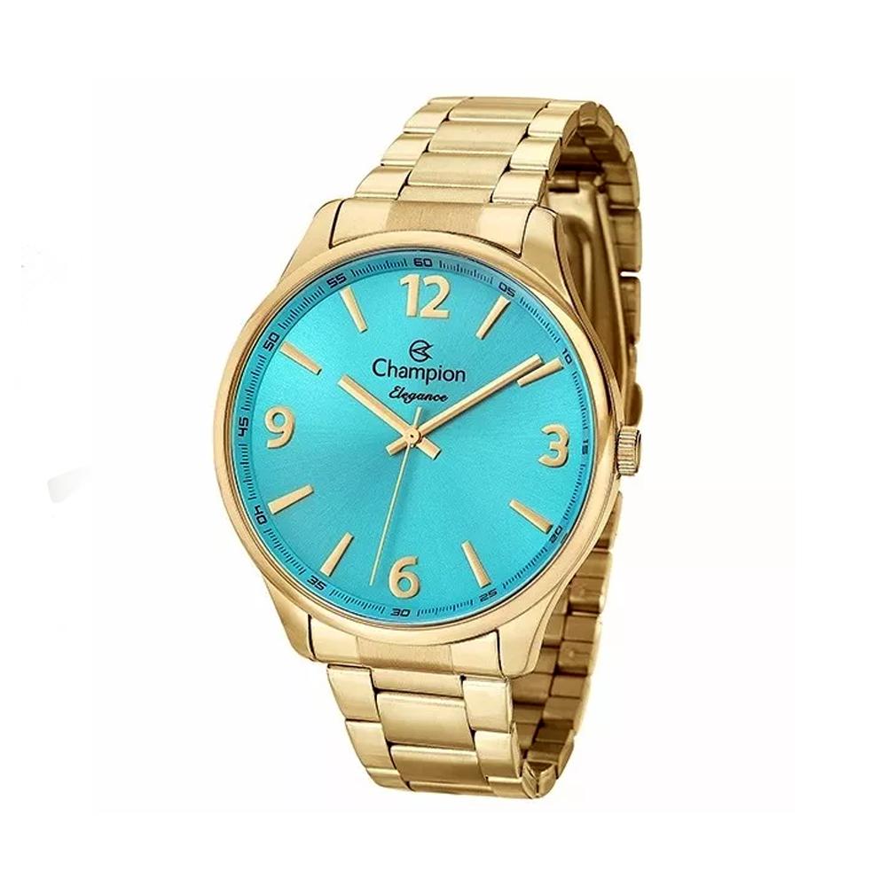 Relógio CHAMPION CN26206L Dourado - Mostrador Azul