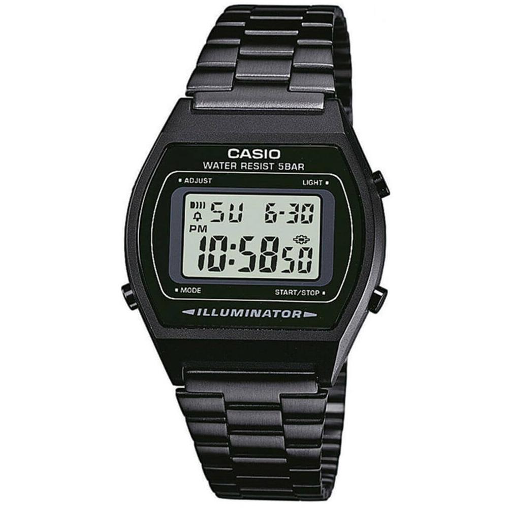 Relógio CASIO VINTAGE B640WB-1ADF Preto Fosco