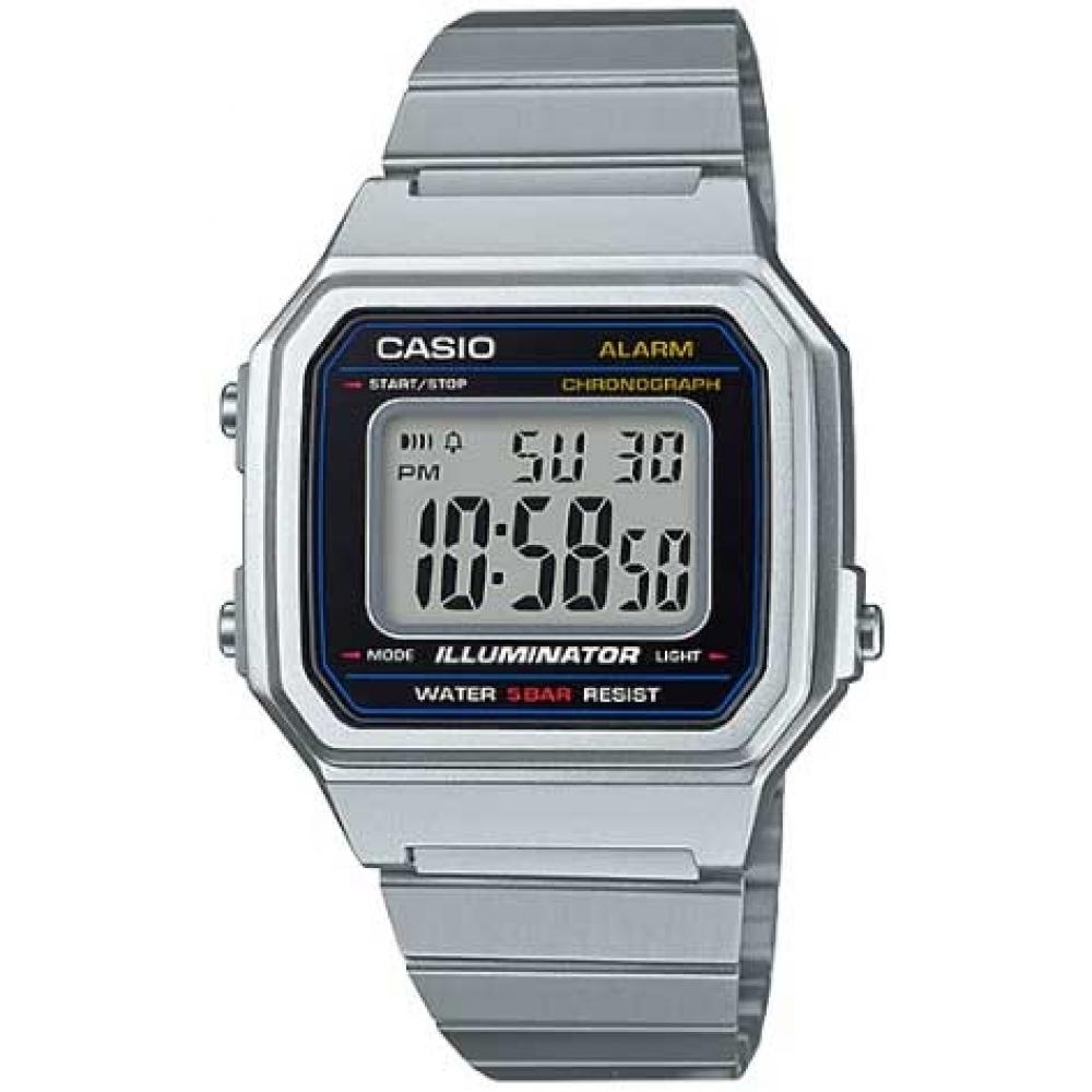 Relógio CASIO Vintage B650WD-1ADF - Prata