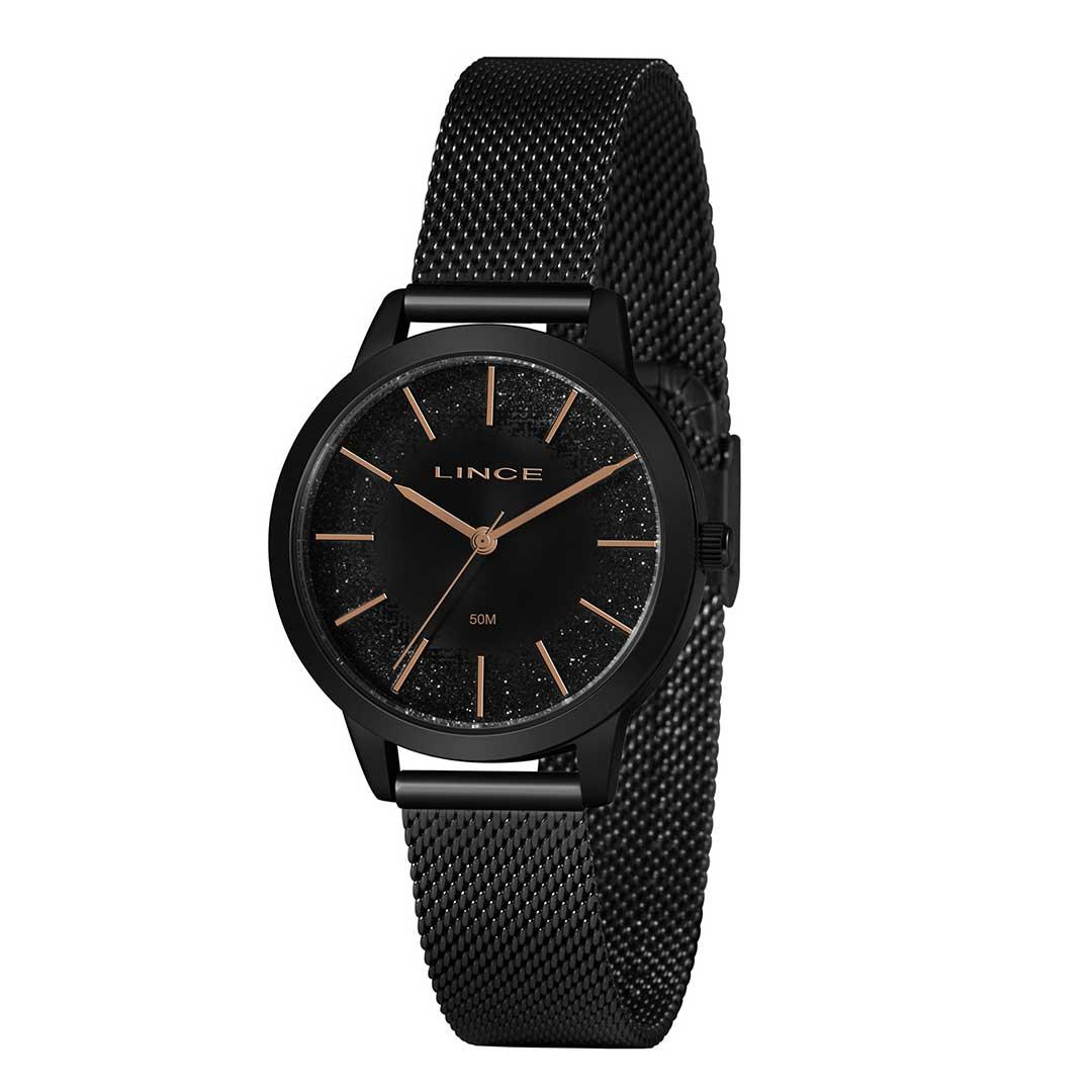Relógio lince Feminino LRN4678L P1PX  - Preto
