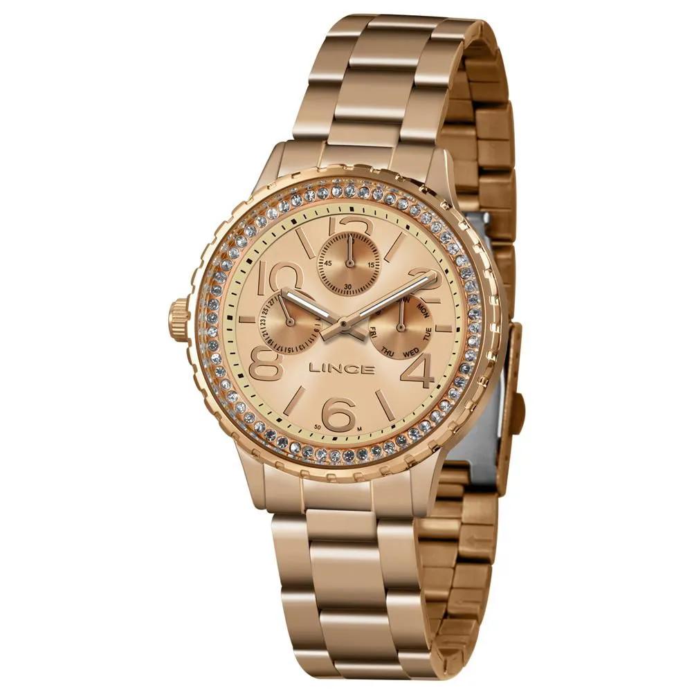 Relógio LINCE LMR4624L R2RX Rosê