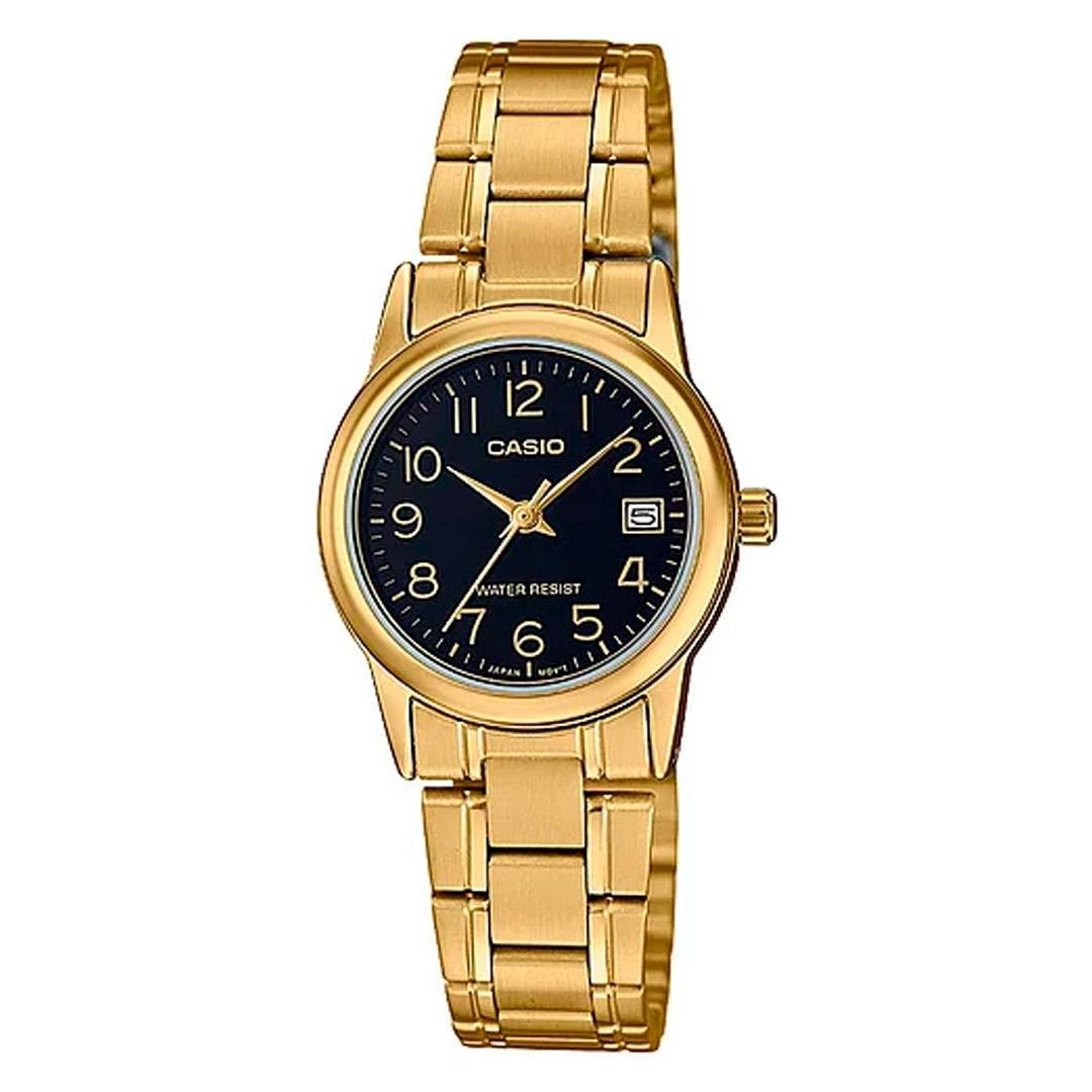 Relógio CASIO Analógico LTP-V002G-1BUDF Feminino - Dourado