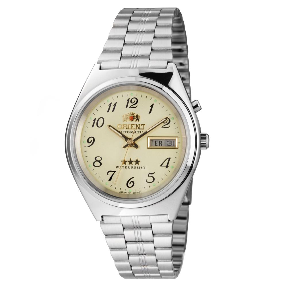 Relógio ORIENT 469WB1A C2SX Automático 3 Estrelas Prata