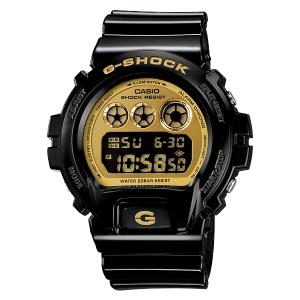 RELÓGIO CASIO G-SHOCK DW-6900CB-1DS - PRETO/DOURADO